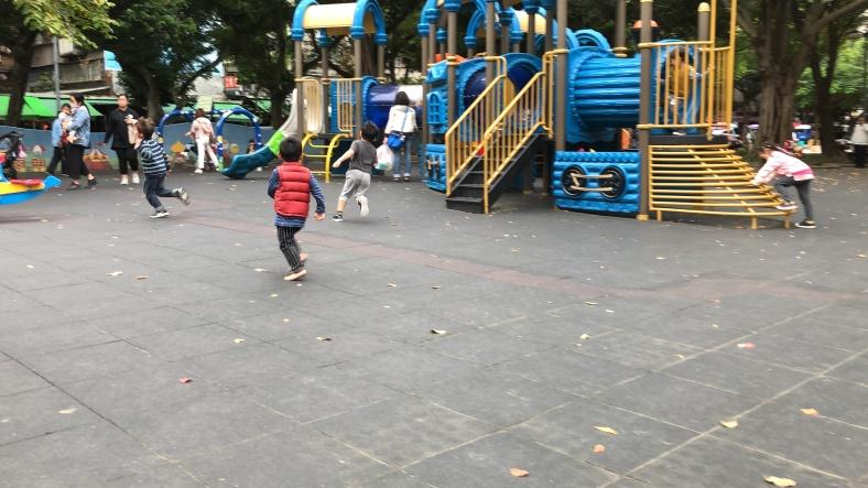 青年公園的追逐