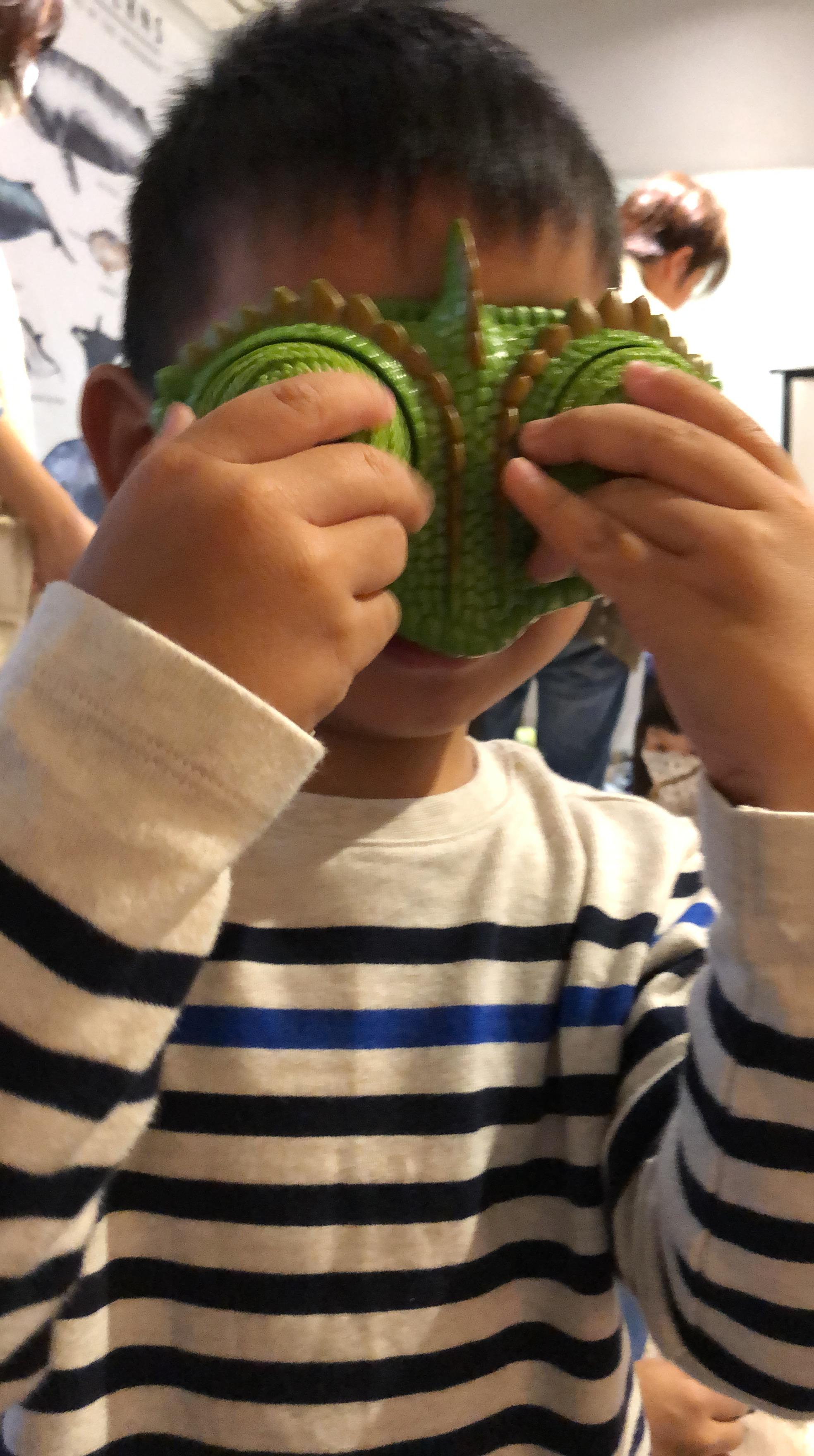 蝌蚪老師生態課的變色龍眼罩