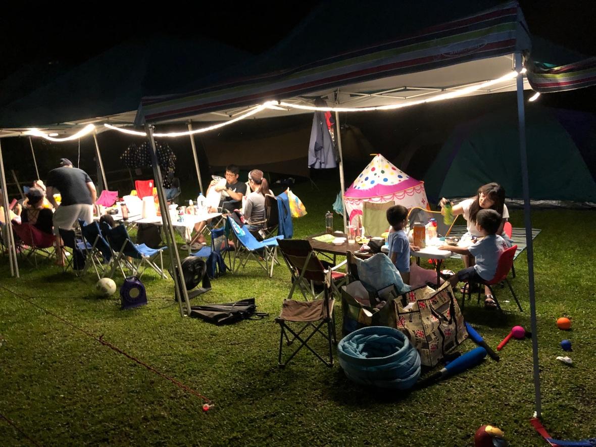 露營初體驗--新竹五峰小米露營區